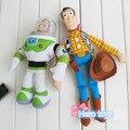 45 см Аниме catoon История Игрушек 3 Базз Лайтер с Ветер Игрушка вуди и базз фаршированные плюшевые игрушки мягкая кукла модель дети день рождения подарок