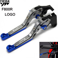 For BMW F800R F 800 R F 800R 2009 2016 2015 2014 Motorcycle Accessories CNC Brake Handle Adjustable Folding Brake Clutch Levers
