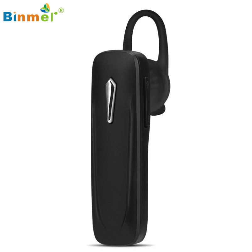 Binmer Hot Selling Wireless Bluetooth Stereo HeadSet Handsfree Earphone For iPhone For Samsung for LG Gift Feb 22 high quality 2016 universal wireless bluetooth headset handsfree earphone for iphone samsung jun22