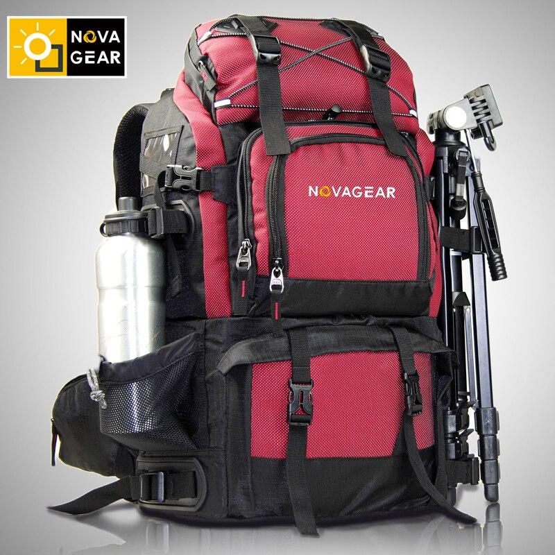 NOVAGEAR 80302 Фото Сумка Камера Рюкзак универсальный большой Ёмкость путешествия Камера рюкзак для Canon/Nikon цифровой Камера