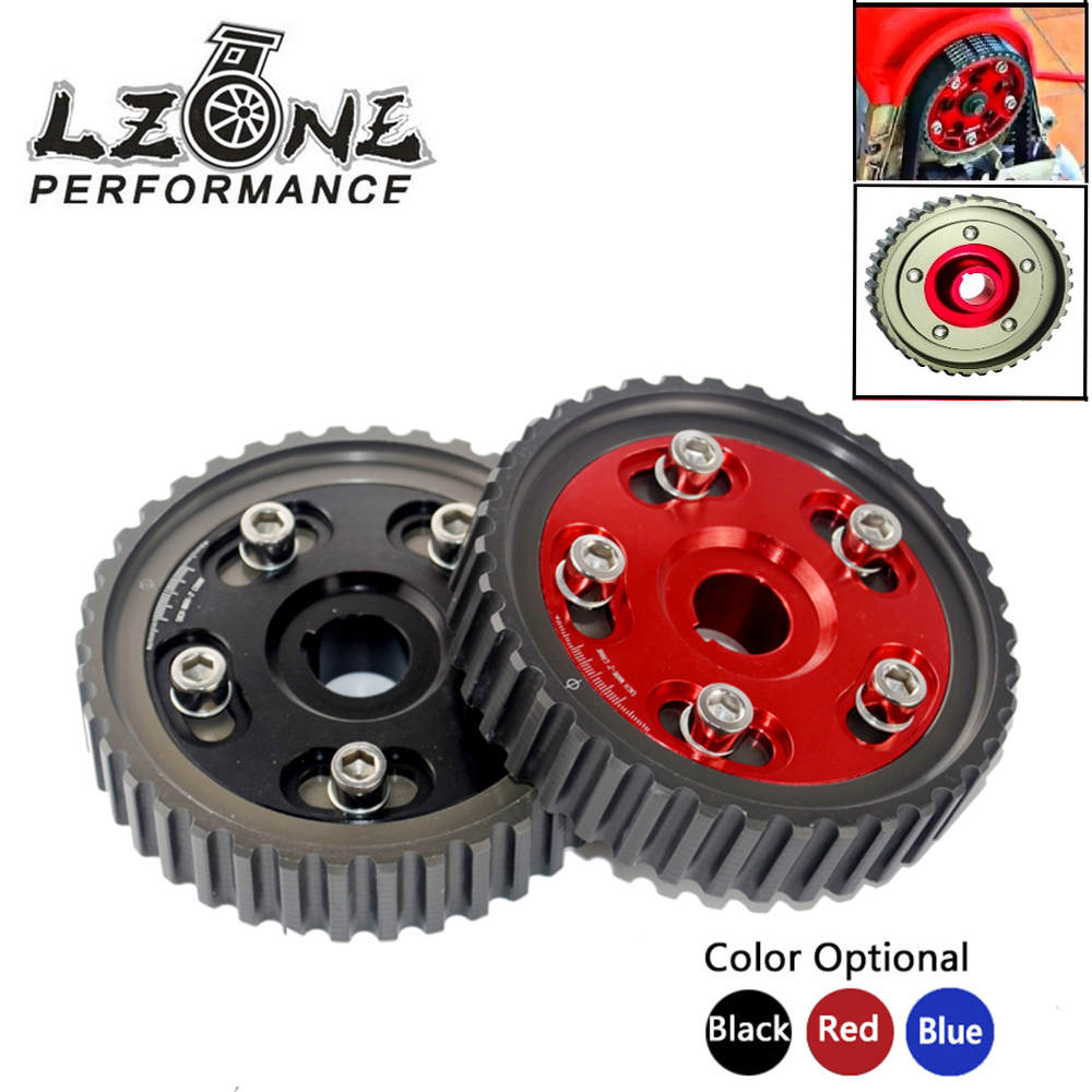 LZONE - Adjustable Cam Gear Alloy Timing Gear FOR HONDA SOHC D15/D16 D-SERIES ENGINE CAM PULLEY PULLYS GEARS 1PCS