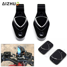 Motorcycle Front Brake Fluid Reservoir mirror fixing code Cover Cap Handle bar For DUCATI 900SS 916/916SPS ST2 748 996 998 стоимость