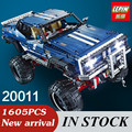 LEPIN 20011 serie técnica Súper clásico edición limitada de vehículos todo terreno Modelo de bloques de Construcción de Juguete Ladrillos Compatibles 41999