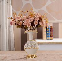 European vase table decoration, creative fashion house decoration