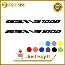 Decals Fuel-Tank-Wheels GSXS1000 Suzuki Moto-Sticker for GSX-S Notebook-Luggage-Helmet