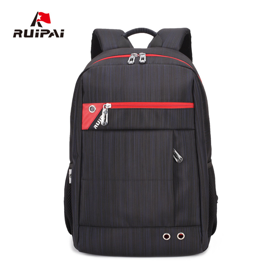 Ruipai 400D Nylon Business Style 15 inch Laptop Backpack Men Women Travle Bag,Notebag College School Bags for Teenagers 1621 jacodel 2017 business 15 inch laptop bag computer backpack bags for men women school bag backpack for teenagers travel bags case