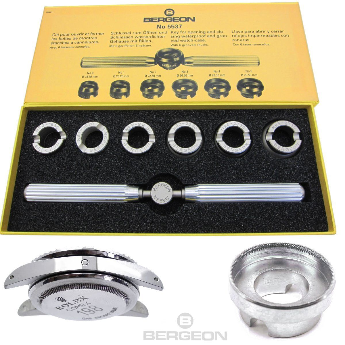 Apricasse originale Bergeon 5537 per R | Repair Tools & Kits
