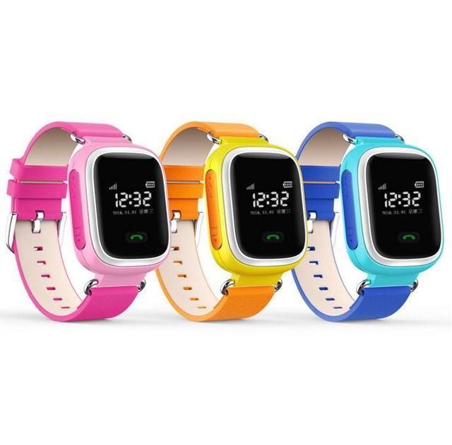 Relógio da tela de toque wifi posicionamento gps q60 smart watch crianças chamada sos localizador dispositivo anti perdido lembrete pk q60