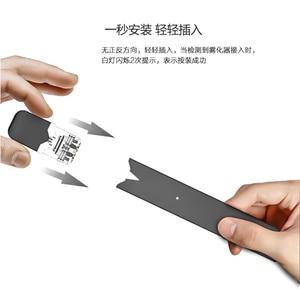 Image 4 - Prezent!!! Oryginalny OVNS W01 Pod Vape 280mAh zestaw 0.7ml LED wskazania mocy system Pod E papieros waporyzator zestaws postawy polityczne w minifit zestaw