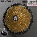 SUNSHINE-SZ 11s 50T SL Черное золото MTB кассета горный велосипед запчасти звездочки 11 11 в 22s 11 Скорость свободного хода K7 для XT X1