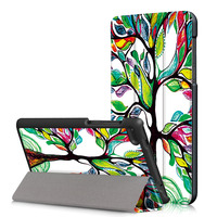 For Lenovo Tab 7 Essential TB-7304F 7304I 7304X Tablet Ultra Slim Stand PU Leather Case Print Sleeve Protector Shell Funda Cover