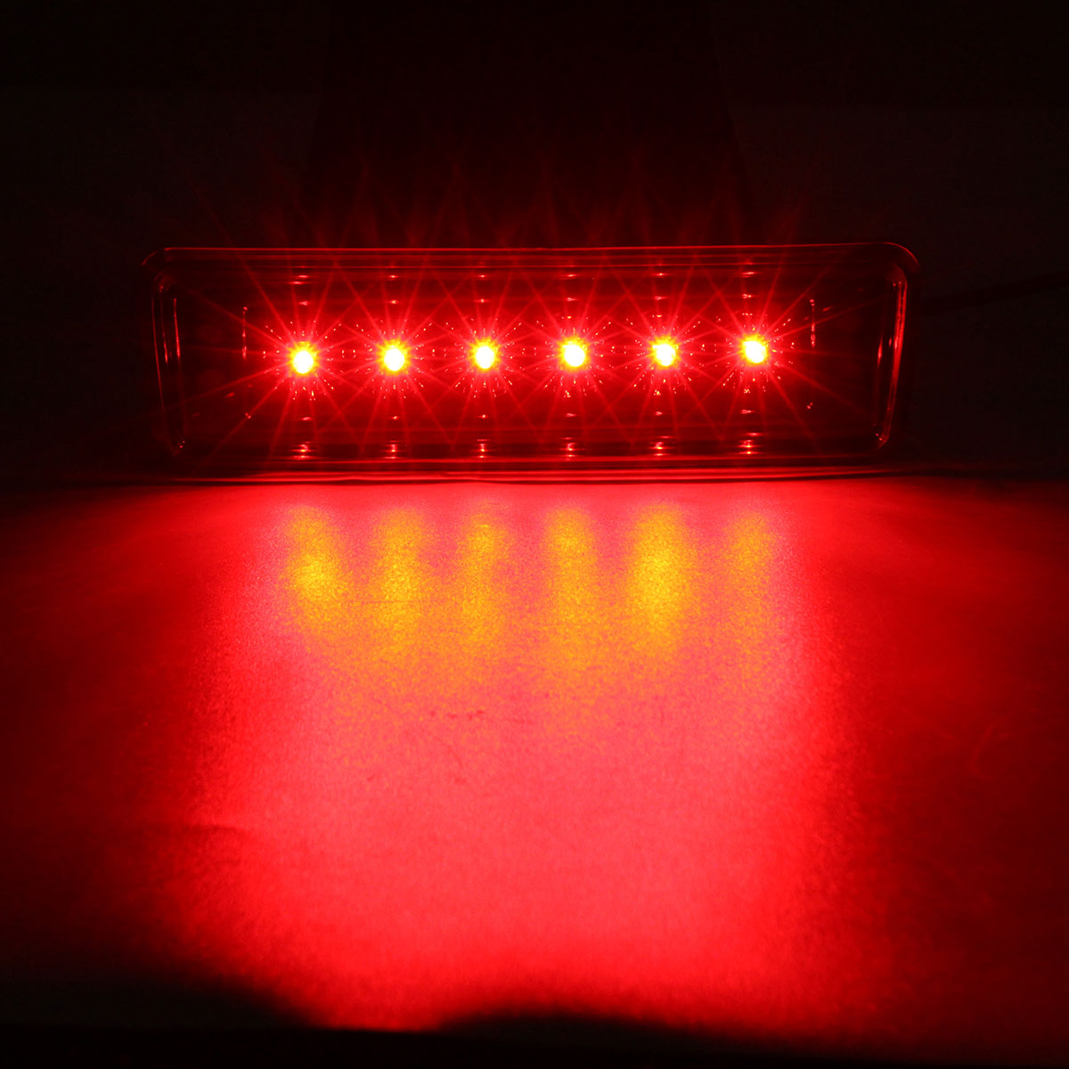 Stop Lamp Led : ... Light Lamp 12V High Mount Stop Lamp LED Third Rear Tail Light For Jeep