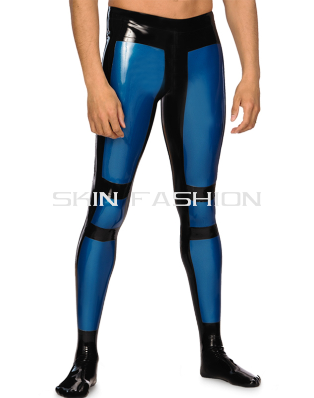Free shipping White latex pants rubber jeans without tops