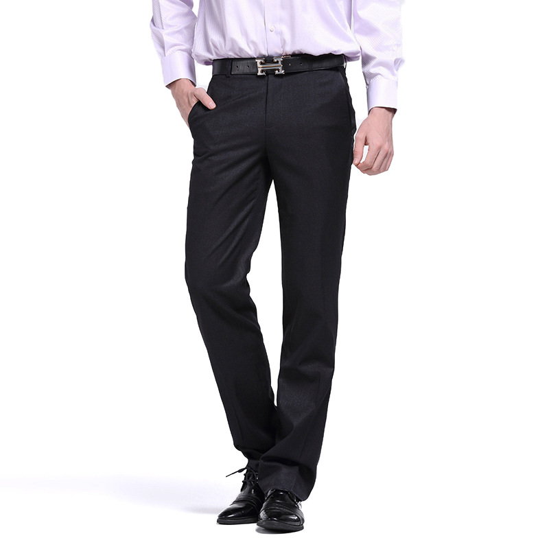 7cdb689a73 Formal Coveralls Pantalon Pantalones De Vestir hombre Dandy Dress Slim Fit  men Spring Autumn Skinny Casual Office Pants Trousers