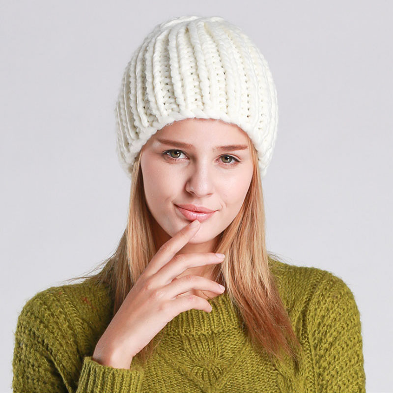 Winter Beanie Hats for Women Solid Colors Beanies Winter Cap winter