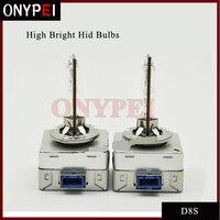 New 2X Super Bright Hid Xenon Bulb D8S 5500K Hid Headlight Xenon Bulb Replacement 12V 35W