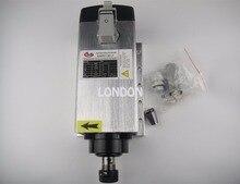 3KW square ER20 AC380V air CNC milling spindle
