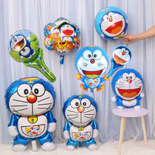 foil balloons helium inflatable wedding large personalized  baby children 1st birthday party decoration cat doraemon balloon стоимость