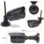 Techege 960 p wifi câmera de 1.3mp ip night vision motion detection tf slot para cartão sem fio da câmera à prova d' água ao ar livre câmera de segurança