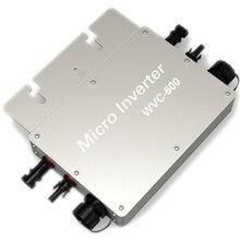 600W Inverter 600 Watt 220V/230V Volt Solar Power Inverter Grid Tie Inverter Pure Sine Wave Inverter WVC600 190-252VAC