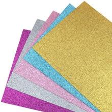 Nanchuang 1,4 мм Толщина яркого цвета с блестками приятная на ощупь ткань для украшения дома узор швейная кукла& Crafts Материал 20x15 см