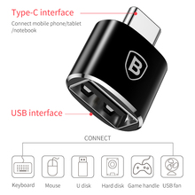 Type C Male to USB Female OTG Adapter Type-c OTG Converter Charger Plug Adapter Converter for USB Female to Type-C Male
