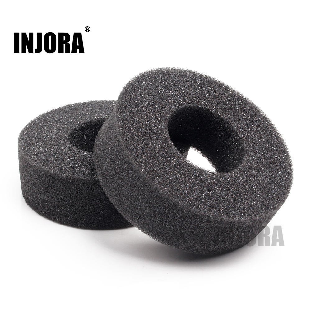 "INJORA 2PCS 1.9"" Tire Soft Sponge Foam fit 1/10 RC Crawler 110-120mm Diameter 1.9 Inch Tires(China)"