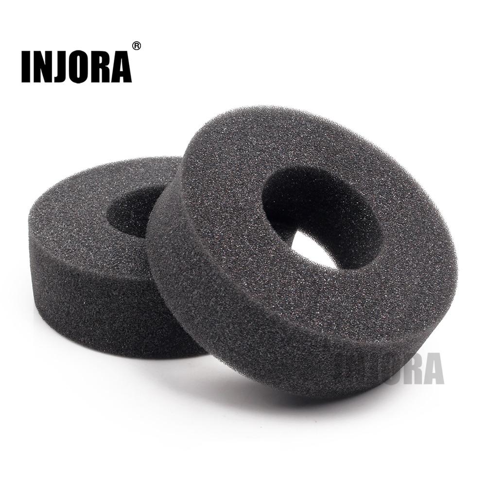 "INJORA 2PCS 1.9"" Tire Soft Sponge Foam fit 1/10 RC Crawler 110-120mm Diameter 1.9 Inch Tires(China)"