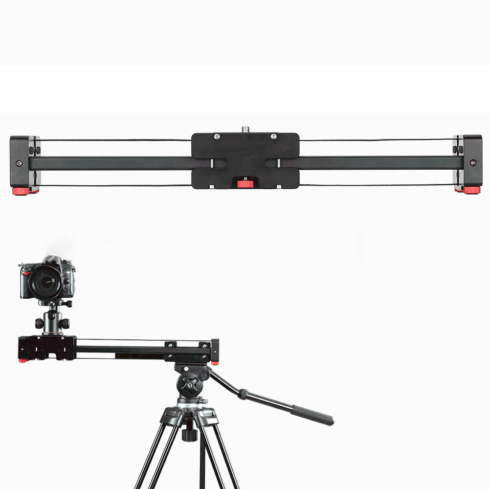 100cm Slider Move Track Rail Stabilizer 86cm Sliding DistanceVideo Slider Follow Focus Rail Carbon Slide DSLR Camera Shooting compact retractable track dolly slider 50cm rail shooting video stabilizer 86cm actual sliding distance