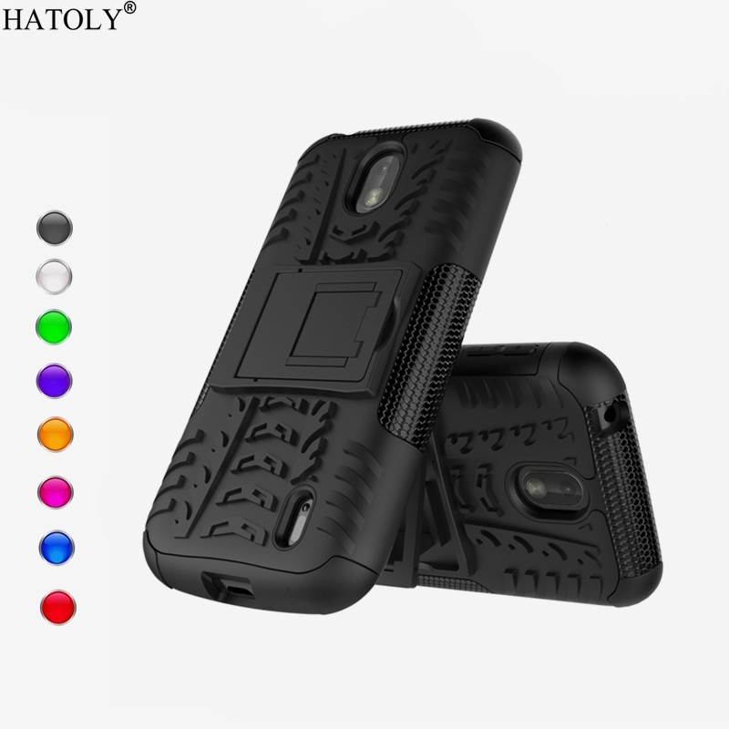 HATOLY Case For <font><b>Nokia</b></font> 1 Case Cover Silicone & Plastic Armor Cover For <font><b>Nokia</b></font> 1 TA-<font><b>1047</b></font> TA-1060 TA-1079 Back Case Fundas 4.5