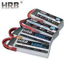 HRB 3S 4S 2S Lipo аккумулятор 11,1 V 14,8 V 7,4 V 5000mah 6000mah 3300mah 2200mah 2600mah 6S 22,2 V EC5 XT60 T Deans жесткий чехол Запчасти RC