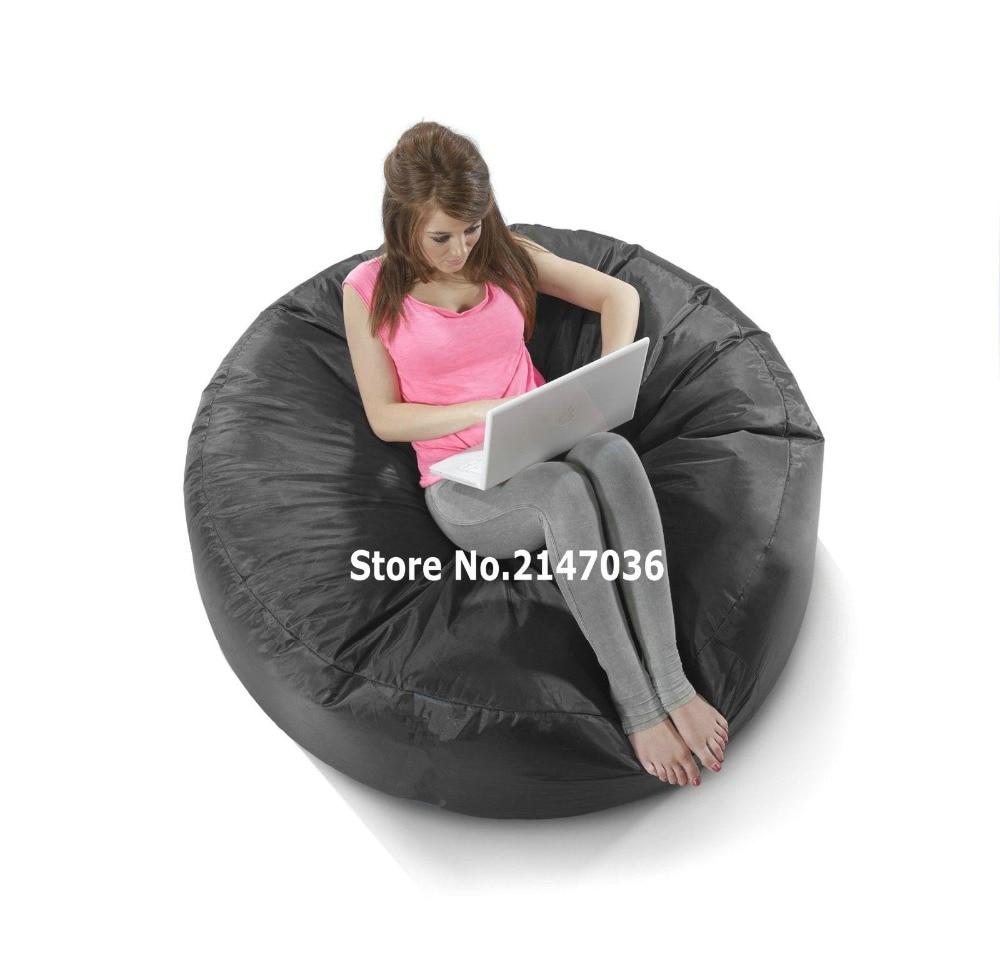 Schwarze insel sitzsack  outdoor sofa abdeckung  competer stuhl-in Wohnzimmersofas aus Möbel bei title=