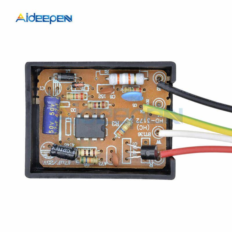 AC 220V 1 способ/3 способ Сенсорное управления переключатель Сенсорная лампа настольная подсветка Запчасти Переключатель Ремонт для лампочек энергосберегающие лампы