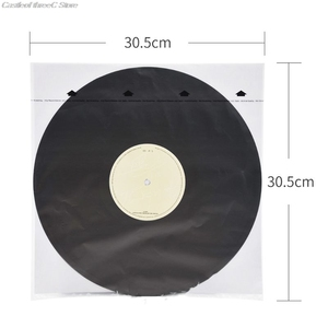 Image 5 - 20PCS Anti static Rice Paper Record Inner Bag Sleeves Protectors For 12 Inches Vinyl Record Turntable Accessories
