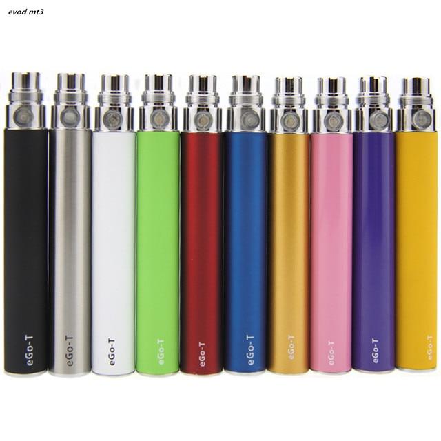 5 cái/lốc EGO T Pin cho Thuốc Lá Điện Tử E-cig ego 510 Chủ Đề trận đấu CE4 CE5 MT3 650 mah 900 mah 1100 mah 11 Colors evod mt3