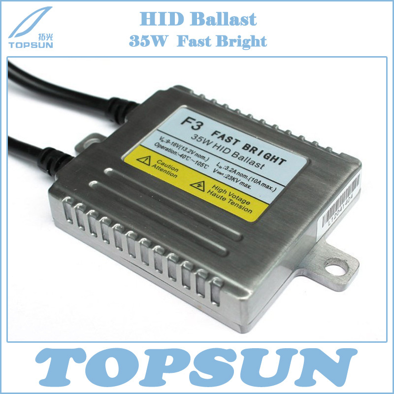 Free Shipping FASTER THAN OEM BALLAST HOT F3 FAST BRIGHT AC 35W DIGITAL HID XENON BALLAST