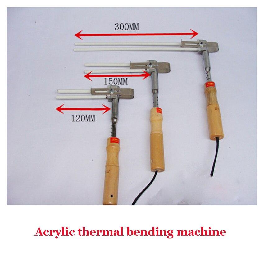 1PC Acrylic Bender Channel Letter hot <font><b>bending</b></font> machine Arc/Angle Shape Bender 120mm heating tube bender 220V
