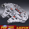 LEPIN 05033 WARS 5265Pcs Star Ultimate 10179 Collector S Millennium Toys Falcon Model Building Kit Blocks