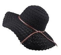 Sommer Hüte für Frauen Mode-Design Frauen Strand Sonnenhut Faltbare Krempe Strohhut
