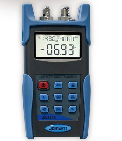 Good Performance JW3209 Optical Loss Test Set With Fiber Power Meter And Laser Source Optical Multimeter 1310nm/1550nmGood Performance JW3209 Optical Loss Test Set With Fiber Power Meter And Laser Source Optical Multimeter 1310nm/1550nm