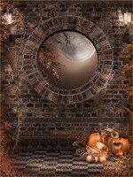SHENGYONGBAO 5x7ft Art cloth Custom Digital Photography Backdrops Props Halloween Background JUW 08