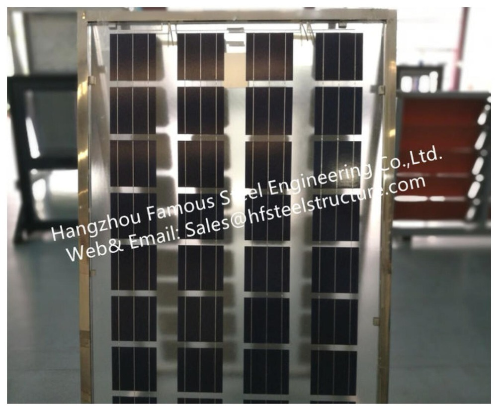 Solar Panel Building-Integrated Photovoltaic Facades BIPV Glass Curtain Wall With Solar Modules Cell Cladding