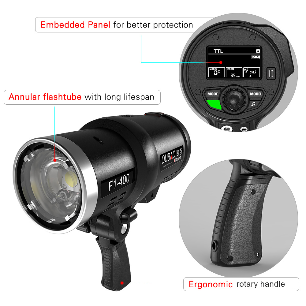 Outdoor Strobe Light F1 400 dual ttl outdoor strobe 400w flash light 18000s high speed 1 f1 400 outdoor strobe flash 1 flash trigger 1 protective cap 1 bowens mount adapter 1 ac charger euus plug 2 fuse 1 lithium battery pack workwithnaturefo