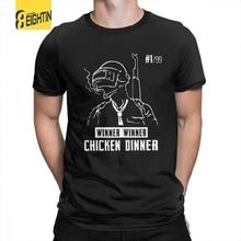 Pubg Playerunknown's боя Футболка 100% хлопок Hipster Одежда высокого качества футболки Подростковая короткий рукав Футболка с круглым вырезом
