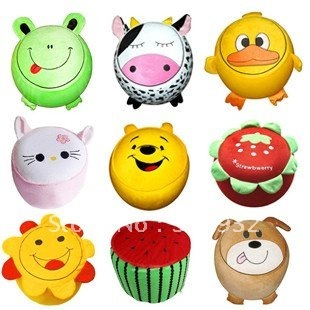 C3 Super cute hot sale cartoon animal shaped inflatable stool washable free shipping 1pc