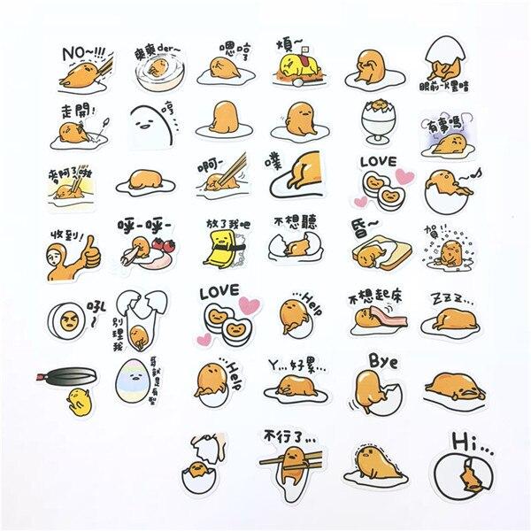 1 пакет, милые Мультяшные декоративные наклейки в Корейском стиле, клейкие наклейки, скрапбукинг, сделай сам, декоративные наклейки для дневника - Цвет: 2