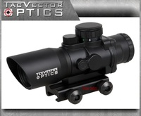 Vector Optics Talos 4x32 Tactical Compact Rifle Prism Scope Fit AR15 Sig Sauer AK47 With Chevron