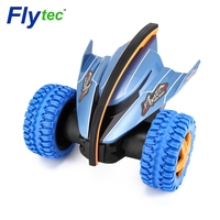 Новое поступление flytec 015 rc автомобиля 360 градусов подпрыгивая вращения дьявол рыбы Сумасшедший гироскопа автомобилей 2.4 г 4CH RC игрушки автом