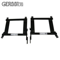 2 Pcs Set Seat Bracket For 2010 2013 MAZDA 3 MAZDASPEED 3 DRIVER LEFT SIDE RACING