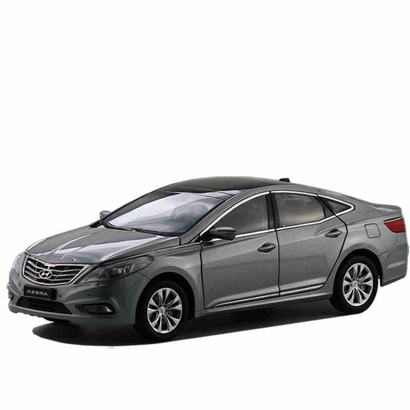*Grey 2013 1/18 Hyundai AZERA Grandeur Diecast Model Car Toys Replica Miniature Cars China Custom Made